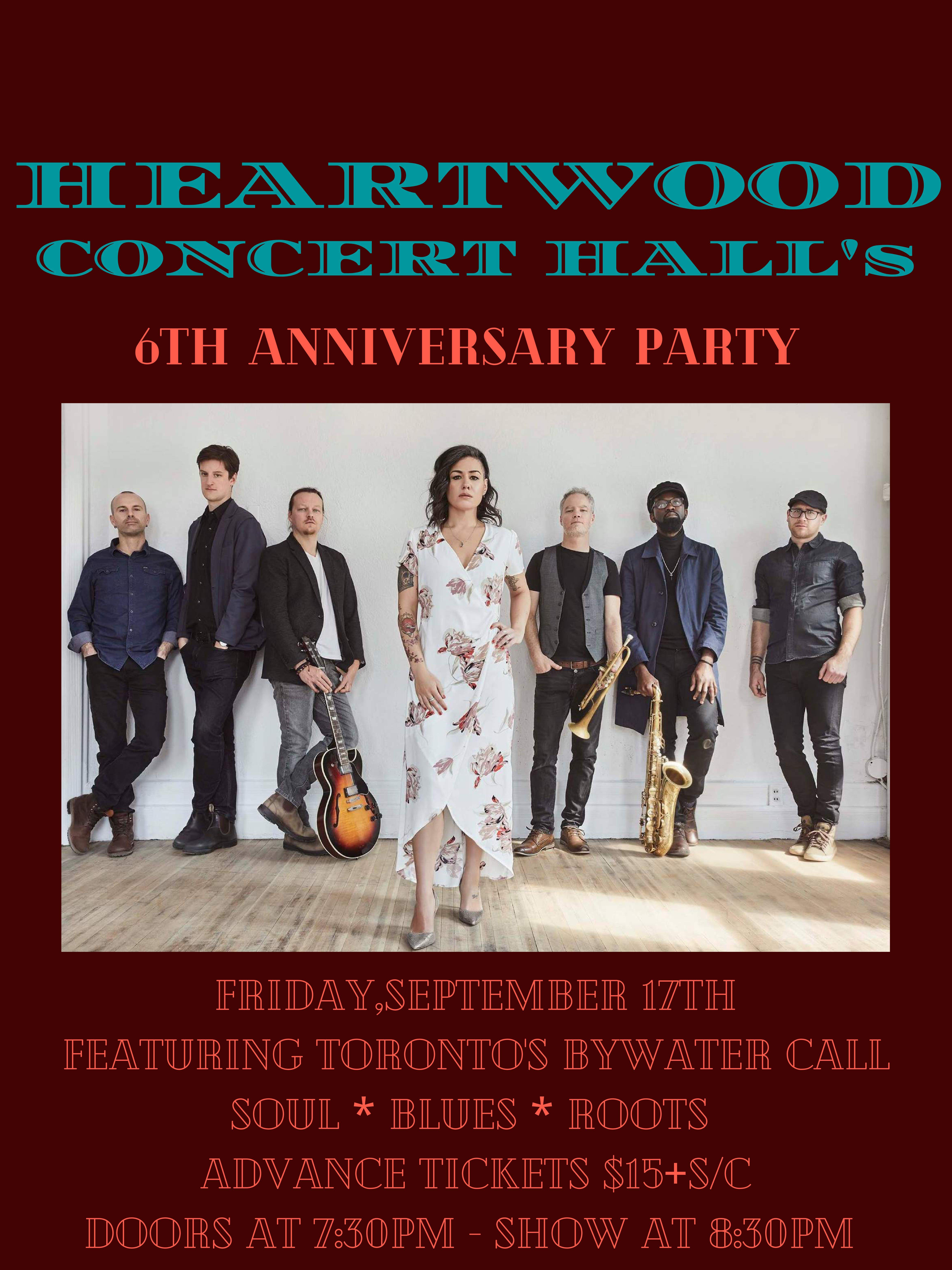 Heartwood's 6th Anniversary Party featuring Bywater Call